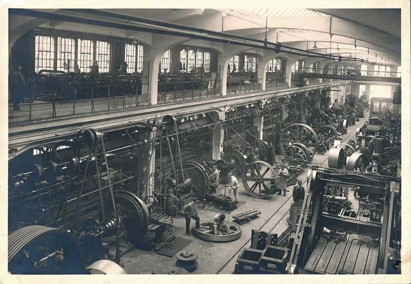 Fmm Europe, SE - historické foto továrny